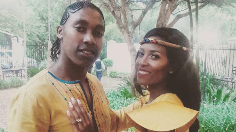 Caster Semenya, l\u0027athlète sud,africaine, a épousé sa petite