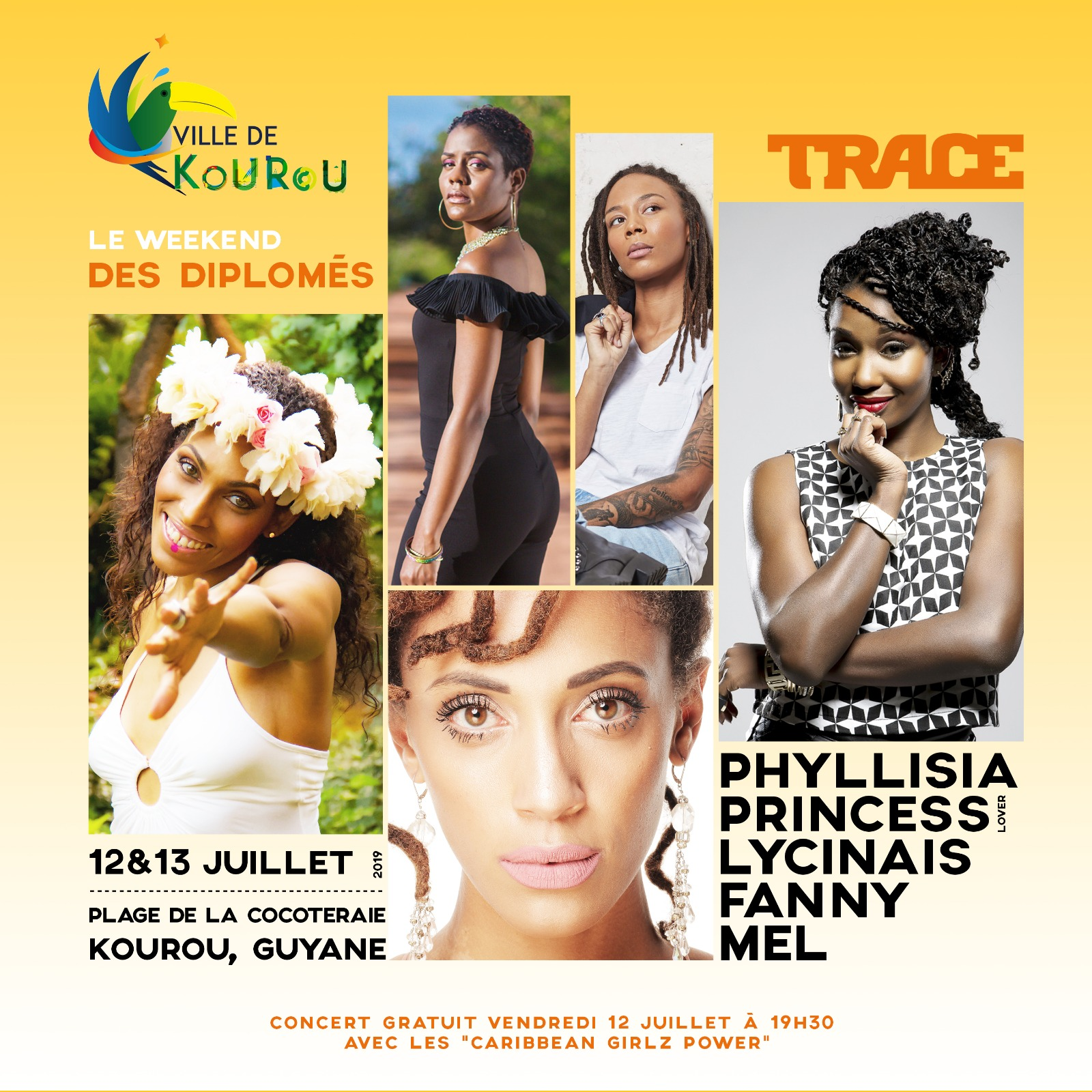 Concert Caribbean Girlz Power - Kourou
