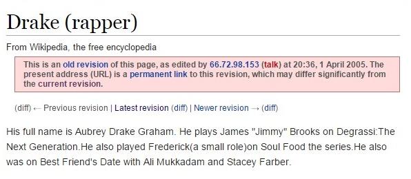 drake wikipedia