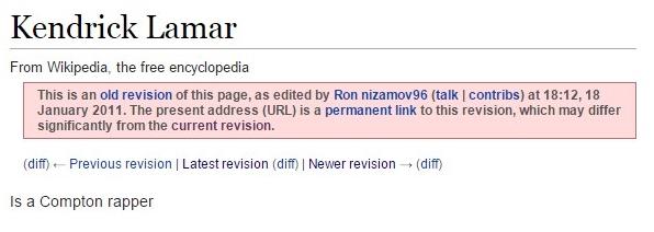 kendrick wikipedia