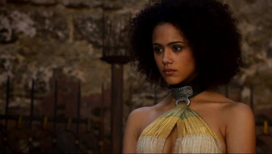 Nathalie Emmanuel Missandei Dans Game Of Thrones Refuse -8709