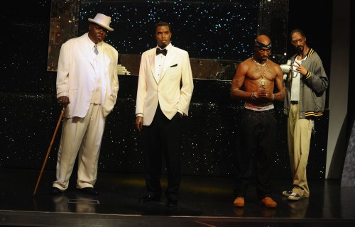 biggie-diddy-tupac-snoop-dogg-wax-statues