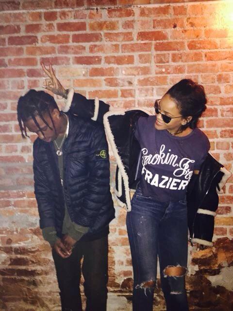 Rihanna Et Travis Scott Ils Ne Se Quittent Plus Trace