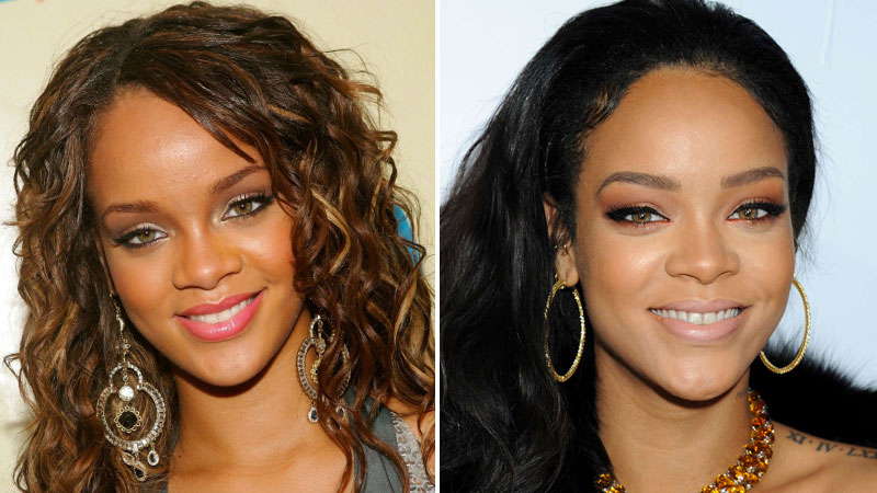 Ciara nicki minaj miley cyrus quoi ressemblaient elles leurs d buts trace - Rihanna avant apres ...