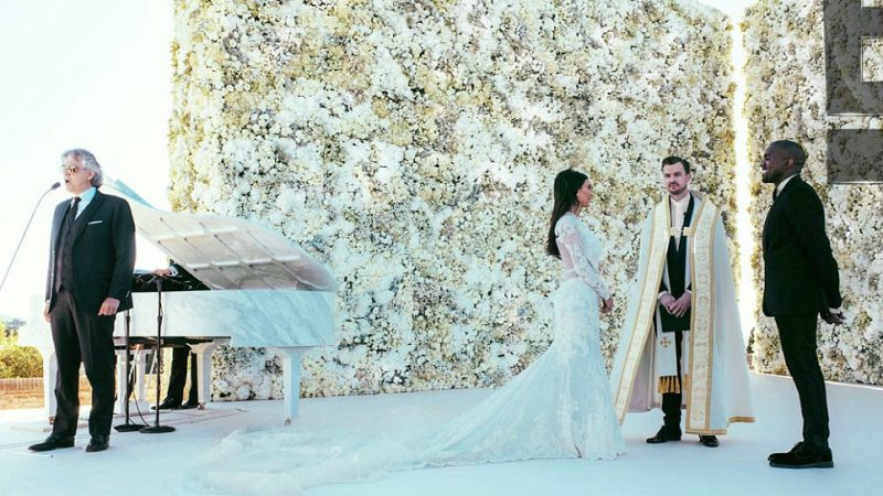 Mariage-kim-kardashian-et-Kanye-West