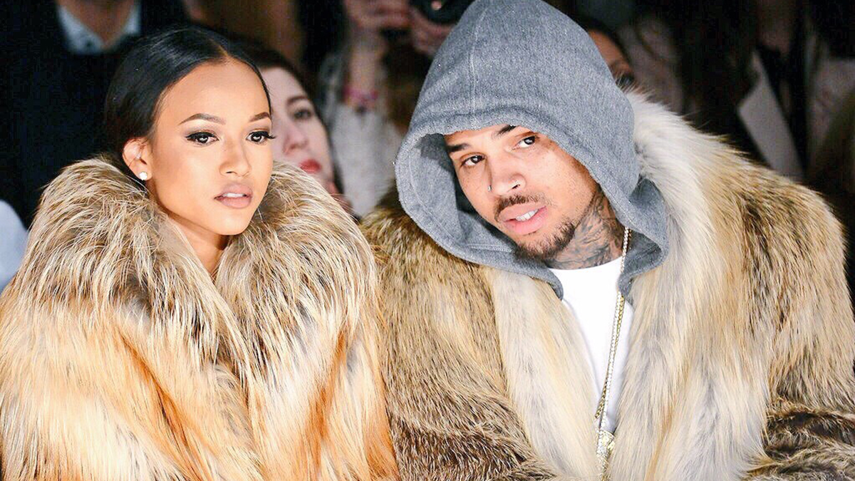 Chris Brown-Karrueche Tran-couple