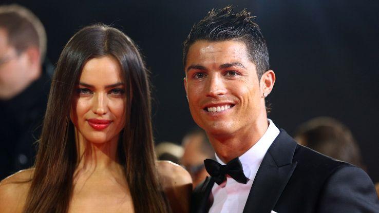 Irina-Cristiano-couple