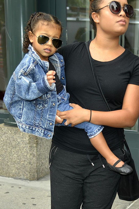 North-West-spotted-out-in-New-York-with-her-nanny