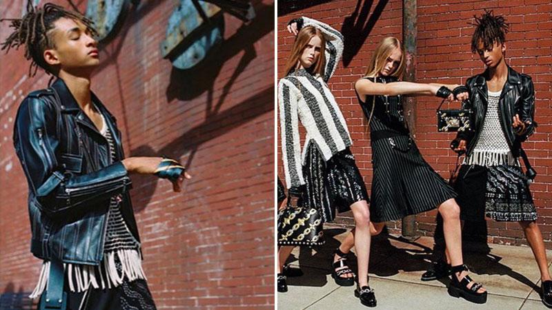 Jaden-Smith-Collection-Femme-Jupe-Louis-Vuitton