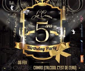 Soirée Anniversaire !!! 5 ans Cosmo Paris, Ce Samedi 06 Février !