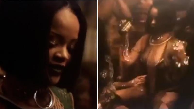 Rihanna : elle révèle les premières images du clip de