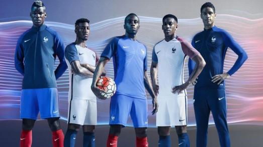 Euro 2016 : voici les nouveaux maillots de l'Équipe de France