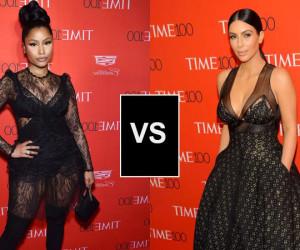 Le style de la semaine : Nicki Minaj VS Kim Kardashian