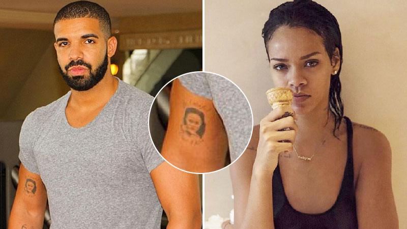Drake  le rappeur s\u0027est,il tatoué le visage de Rihanna sur le bras ?