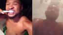 Usher : il fait un striptease en direct sur Snapchat