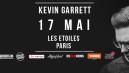 Kevin Garrett en concert exclusif le mardi 17mai aux Etoiles !