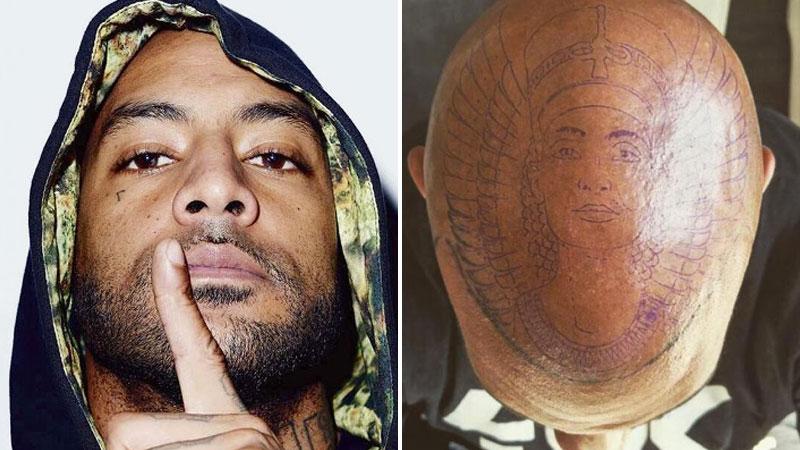 Booba wiz khalifa the game ces stars qui ont os les tatouages sur le visage et la t te trace - Tatouage larme signification ...
