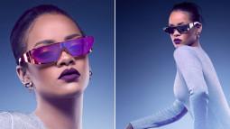Rihanna : sa collection de lunettes de soleil futuristes pour Dior
