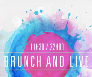 Brunch and Live ce dimanche 26 juin sur les quais de seine !