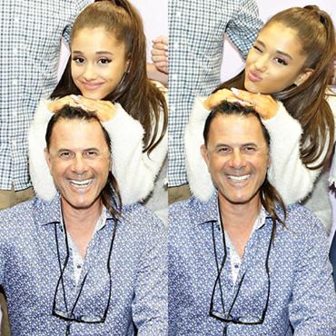 Ariana Grande et son papa