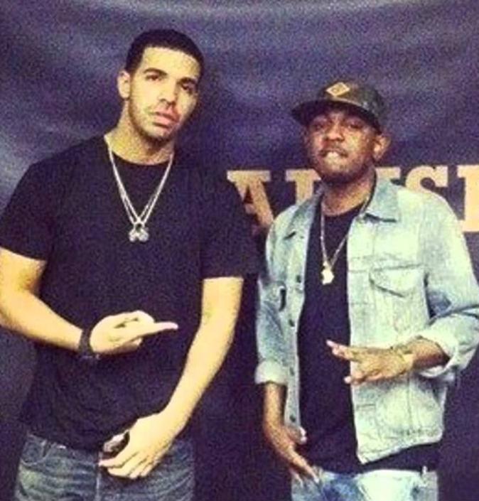 Kendrick Lamar et Drake