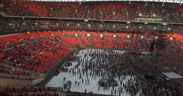 Le concert de Rihanna au Wembley Stadium