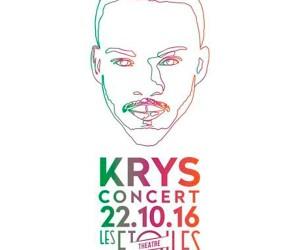 KRYS en concert le 22/10/2016 aux Etoiles à Paris