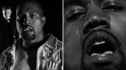 Kanye West : il verse des larmes dans le clip de