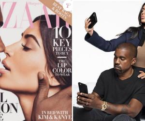 Kanye West et Kim K : le couple sensuel se dévoile pour Harper's Bazaar