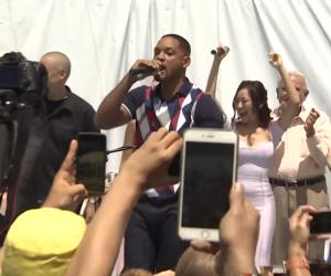Will Smith : il monte sur scène chanter