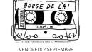 La BOUGE DE LA est de retour au Wanderlust le 2 Septembre!