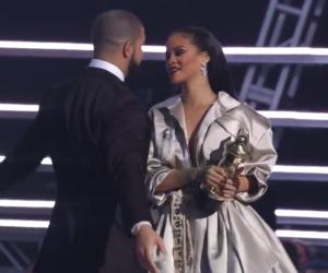 Drake : il essaie d'embrasser Rihanna, elle l'esquive sans respect