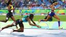 JO 2016 : cette coureuse bahaméenne a plongé pour décrocher l'or au 400m !