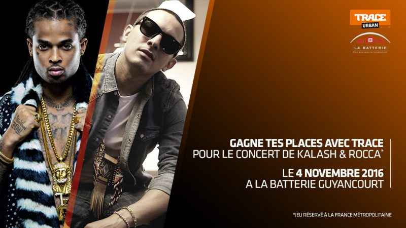 Kalash et Rocca en concert à la Batterie Guyancourt le 4/11