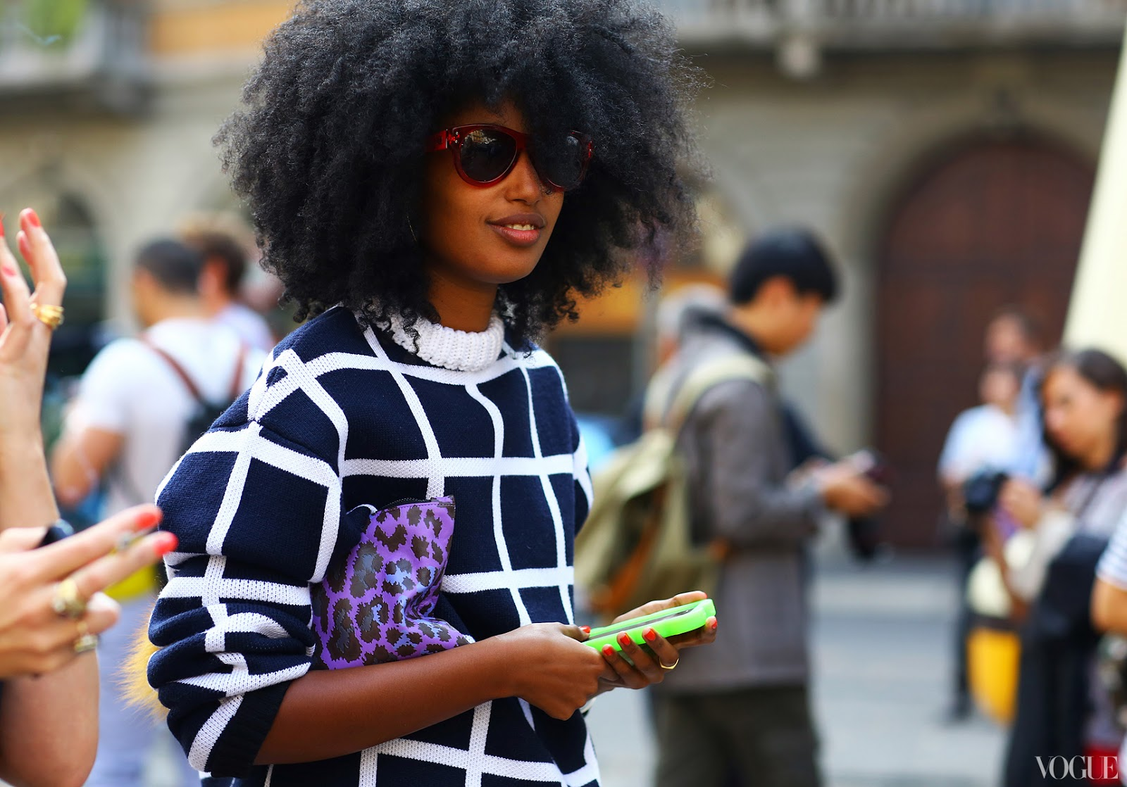 milan-fashion-week-streetstyle-julia-sarr-jamois-jw-anderson-sweater