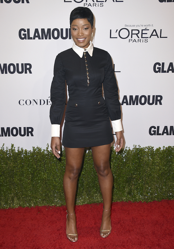 Keke Palmer arrives at the Glamour Women of the Year Awards at NeueHouse Hollywood on Monday, Nov. 14, 2016, in Los Angeles. (Photo by Jordan Strauss/Invision/AP)