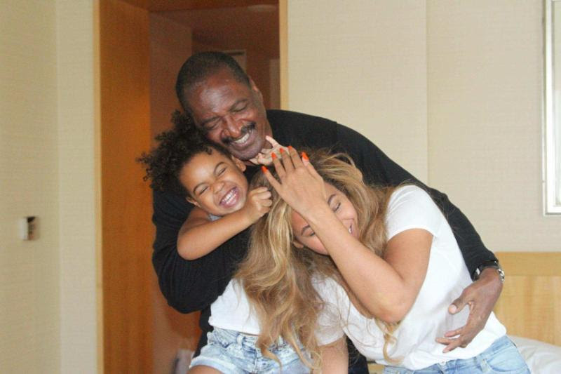 Mathew Knowles, Beyoncé et Blue Ivy