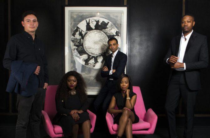 """La classe Forbes Africa """"30 under 30"""" à Johanesbourg, Afrique du Sud"""