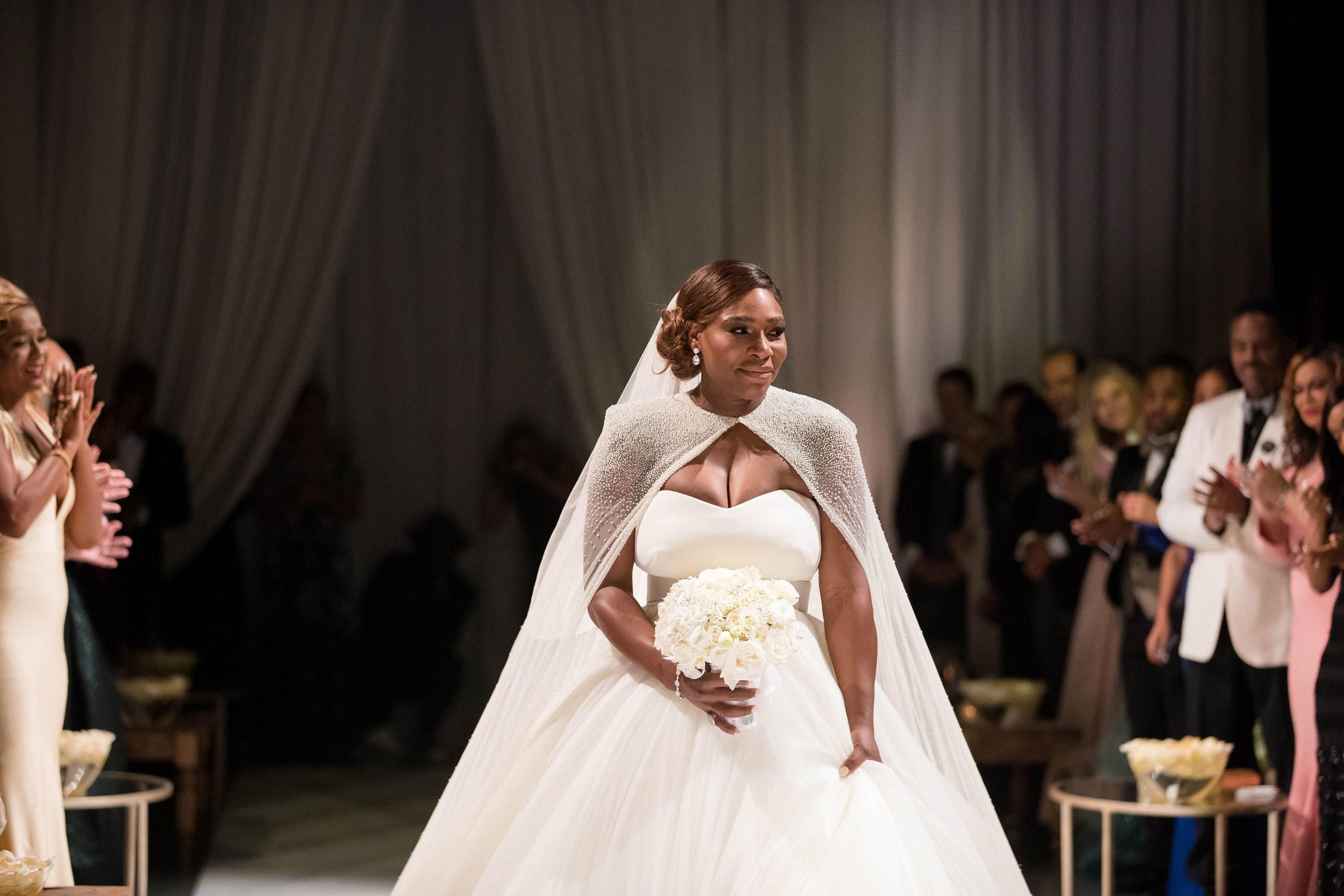 Les photos du mariage féérique de Serena Williams