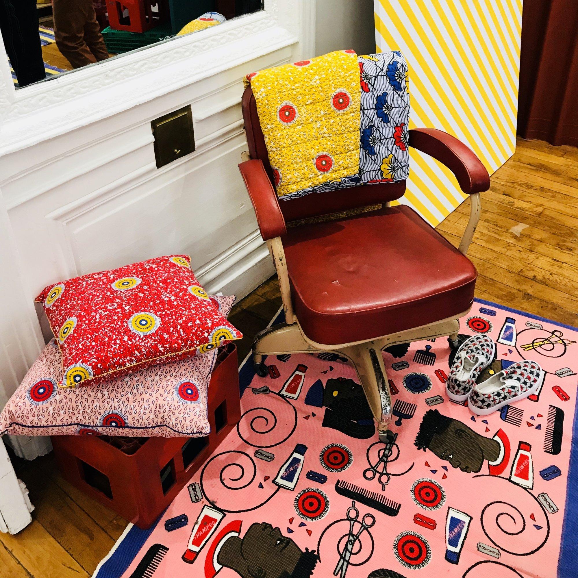 maison ch teau rouge pr sente une collection capsule funky avec monoprix trace. Black Bedroom Furniture Sets. Home Design Ideas