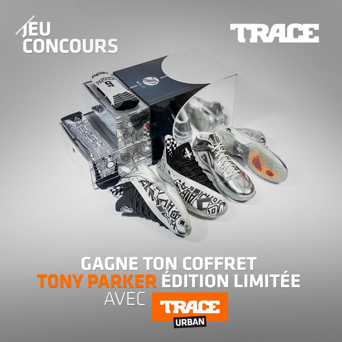 Jeu Concours Tente De Gagner Un Coffret Tony Parker Edition Limitee Trace Fr